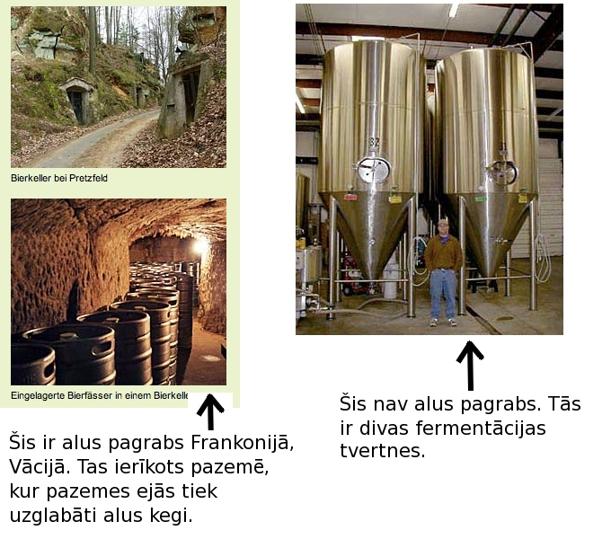 alus pagrabs