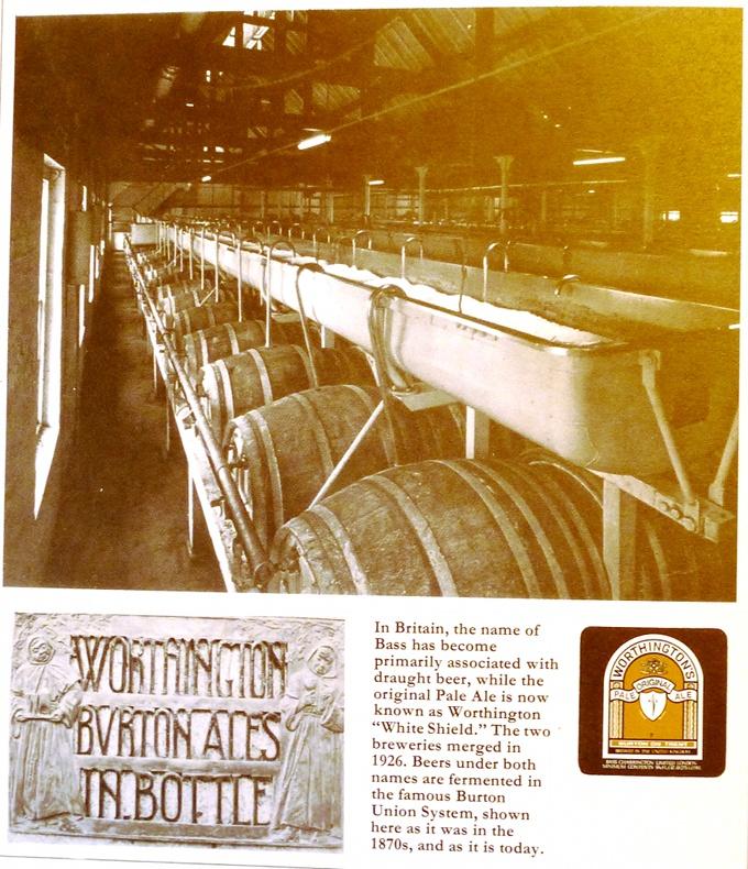 Worthington's White Shield darītava Bērtonā vēl darbojas (tiek slēgta 1981.g.), turklāt fermentācijai izmanto veco Union sistēmu